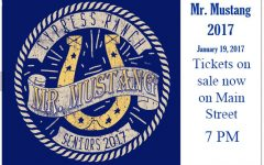 Seniors Prepare for Mr. Mustang