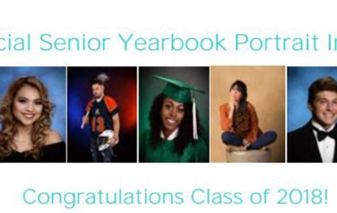 Senior Portrait Notice