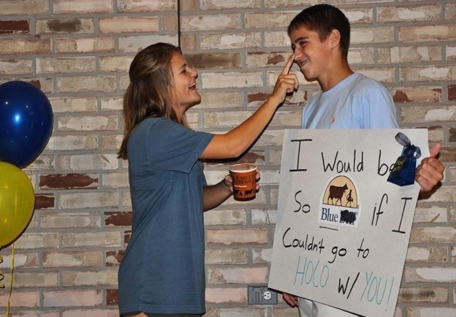 Students Get Creative When Popping The Big Homecoming Question The