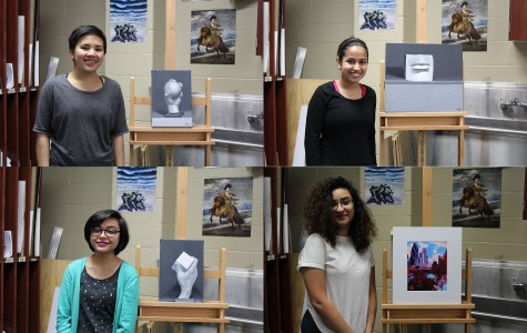 Students Take Home Scholastic Art Awards