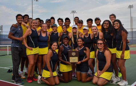 Tennis Team Wins District