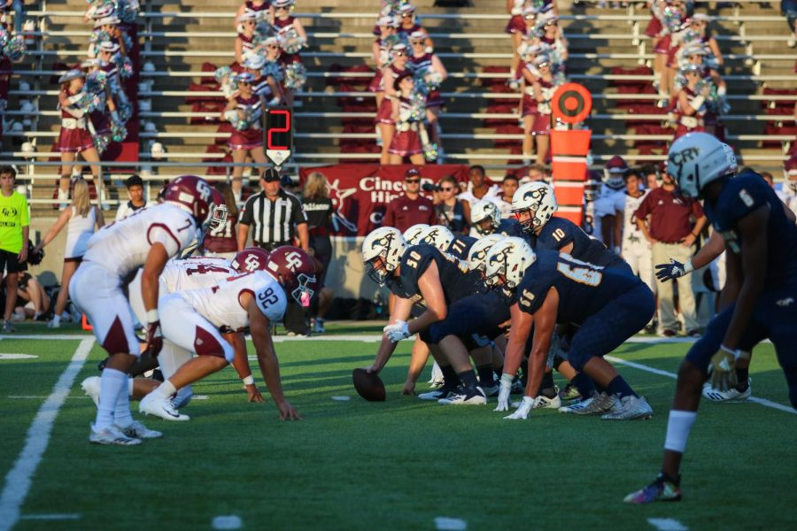 Mustang Football Secures Comeback Victory Over Cinco Ranch