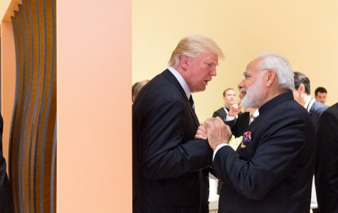 Prime Minister of India, Modi, and Donald Trump Gather for
