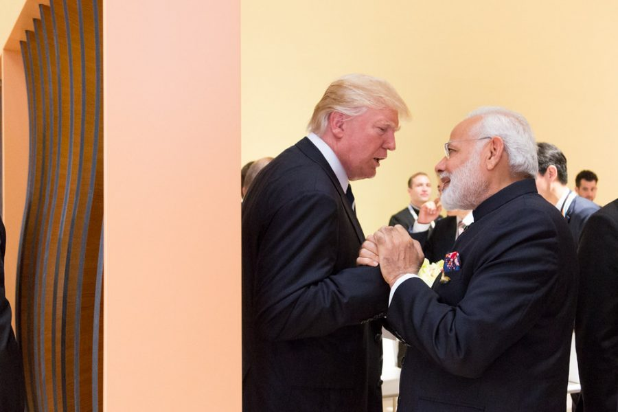 Prime+Minister+of+India%2C+Modi%2C+and+Donald+Trump+Gather+for+%22Howdy%2C+Modi%21%22+Houston+Event
