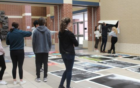 Cy Ranch Installs Art Exhibit Around School